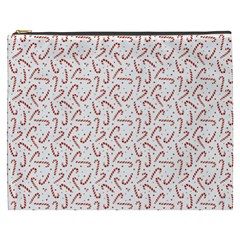 Candy Cane Cosmetic Bag (xxxl)  by patternstudio