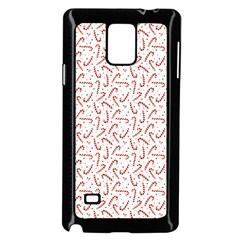 Candy Cane Samsung Galaxy Note 4 Case (black) by patternstudio