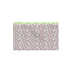 Candy Cane Cosmetic Bag (xs) by patternstudio