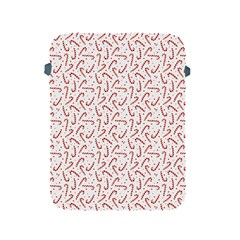 Candy Cane Apple Ipad 2/3/4 Protective Soft Cases by patternstudio