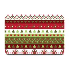 Christmas Spirit Pattern Plate Mats by patternstudio