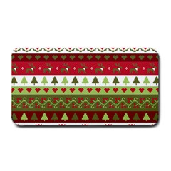 Christmas Spirit Pattern Medium Bar Mats by patternstudio