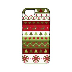 Christmas Spirit Pattern Apple Iphone 5 Classic Hardshell Case (pc+silicone) by patternstudio