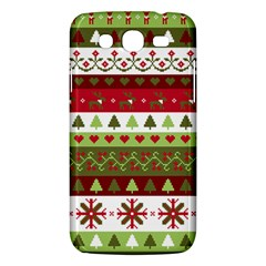 Christmas Spirit Pattern Samsung Galaxy Mega 5 8 I9152 Hardshell Case  by patternstudio