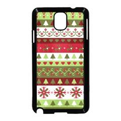 Christmas Spirit Pattern Samsung Galaxy Note 3 Neo Hardshell Case (black) by patternstudio