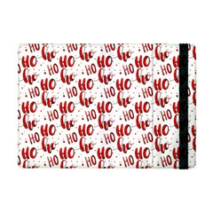 Ho Ho Ho Santaclaus Christmas Cheer Apple Ipad Mini Flip Case