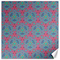 Bereket Pink Blue Canvas 20  X 20   by Cveti