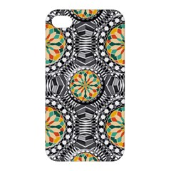 Beveled Geometric Pattern Apple Iphone 4/4s Hardshell Case by linceazul