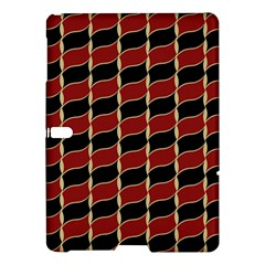 Leaves Red Black Samsung Galaxy Tab S (10 5 ) Hardshell Case  by Cveti