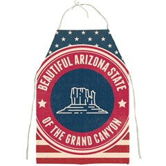Retro Arizona Grand Canyon State Full Print Aprons by allthingseveryday