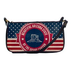 Retro Arizona Grand Canyon State Shoulder Clutch Bags by allthingseveryday