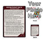 WoA Room Event Deck quick - Multi-purpose Cards (Rectangle)
