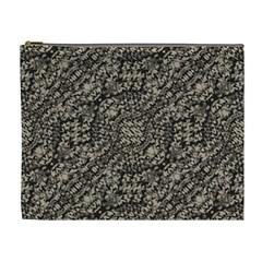 Animal Print Camo Pattern Cosmetic Bag (xl) by dflcprints