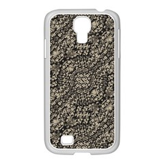 Animal Print Camo Pattern Samsung Galaxy S4 I9500/ I9505 Case (white) by dflcprints