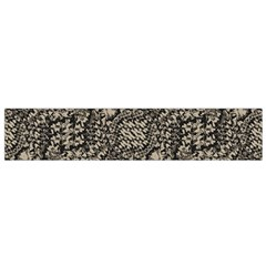 Animal Print Camo Pattern Small Flano Scarf by dflcprints