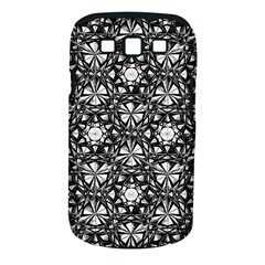 Star Crystal Black White Pattern Samsung Galaxy S Iii Classic Hardshell Case (pc+silicone) by Cveti