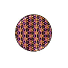 Flower Of Life Purple Gold Hat Clip Ball Marker (10 Pack) by Cveti