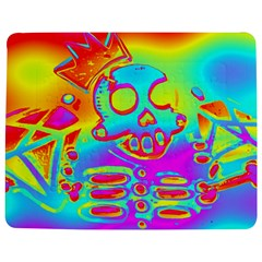 Rainbow Skeleton King Jigsaw Puzzle Photo Stand (rectangular) by Roxzanoart