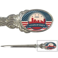 Retro Toledo Skyline Letter Openers by allthingseveryday