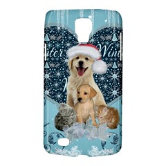 It s Winter And Christmas Time, Cute Kitten And Dogs Galaxy S4 Active by FantasyWorld7
