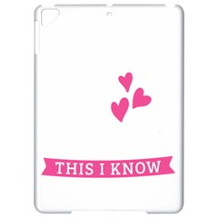 Jesus Loves Me [converted] Apple Ipad Pro 9 7   Hardshell Case by clothcarts