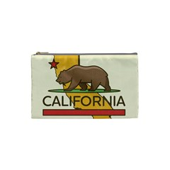 California Bear Cosmetic Bag (small)  by allthingseveryday