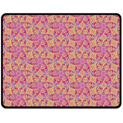 Kaledoscope Pattern  Fleece Blanket (medium)  by Cveti