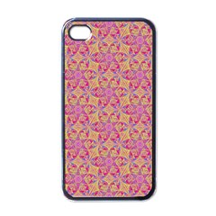 Kaledoscope Pattern  Apple Iphone 4 Case (black) by Cveti