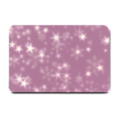 Blurry Stars Lilac Small Doormat  by MoreColorsinLife