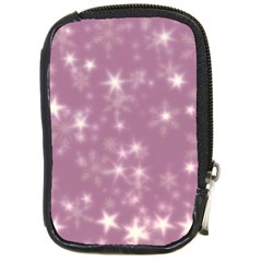 Blurry Stars Lilac Compact Camera Cases by MoreColorsinLife