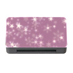 Blurry Stars Lilac Memory Card Reader With Cf by MoreColorsinLife