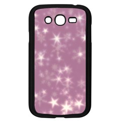 Blurry Stars Lilac Samsung Galaxy Grand Duos I9082 Case (black) by MoreColorsinLife