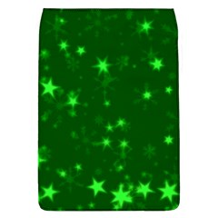 Blurry Stars Green Flap Covers (l)  by MoreColorsinLife