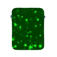 Blurry Stars Green Apple Ipad 2/3/4 Protective Soft Cases by MoreColorsinLife
