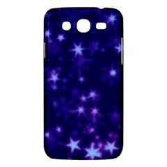 Blurry Stars Blue Samsung Galaxy Mega 5 8 I9152 Hardshell Case  by MoreColorsinLife