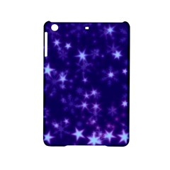 Blurry Stars Blue Ipad Mini 2 Hardshell Cases by MoreColorsinLife