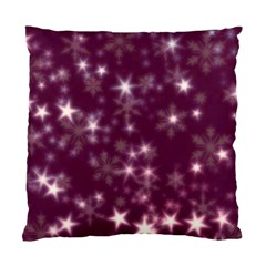 Blurry Stars Plum Standard Cushion Case (one Side) by MoreColorsinLife
