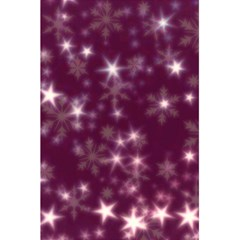 Blurry Stars Plum 5 5  X 8 5  Notebooks by MoreColorsinLife