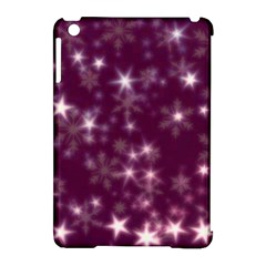 Blurry Stars Plum Apple Ipad Mini Hardshell Case (compatible With Smart Cover) by MoreColorsinLife