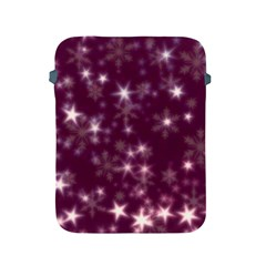 Blurry Stars Plum Apple Ipad 2/3/4 Protective Soft Cases by MoreColorsinLife