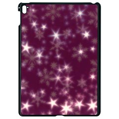 Blurry Stars Plum Apple Ipad Pro 9 7   Black Seamless Case by MoreColorsinLife