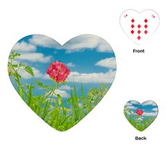 Beauty Nature Scene Photo Playing Cards (heart)  by dflcprints