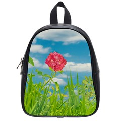 Beauty Nature Scene Photo School Bag (small) by dflcprints