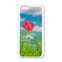 Beauty Nature Scene Photo Apple Iphone 6/6s White Enamel Case by dflcprints