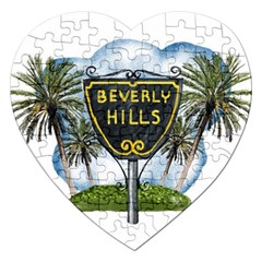 Beverly Hills Jigsaw Puzzle (heart)