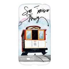 San Francisco Trolley California Bear Samsung Galaxy S4 I9500/i9505 Hardshell Case by allthingseveryday