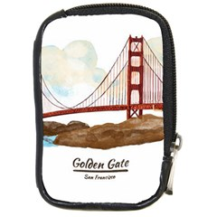 San Francisco Golden Gate Bridge Compact Camera Cases by allthingseveryday