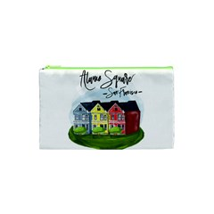 San Francisco Alamo Square Cosmetic Bag (xs) by allthingseveryday