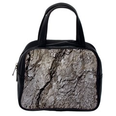 Tree Bark A Classic Handbags (one Side) by MoreColorsinLife
