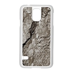 Tree Bark A Samsung Galaxy S5 Case (white) by MoreColorsinLife
